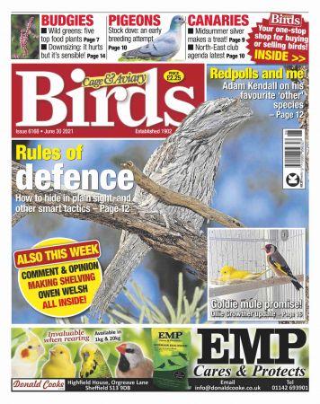 Cage & Aviary Birds   June 30, 2021