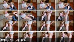 ManyVids - Petite Nymphet - Domestic Bliss: Reluctant Face-Fucking | 2020 | FullHD