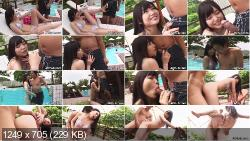 Shino Aoi plays with her boyfriend at the pool | JAVHUB | 2020 | FullHD
