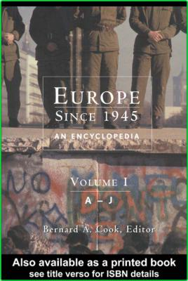 Encyclopedia of Europe since 1945