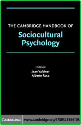 Sociocultural Psychology Handbook Cambridge