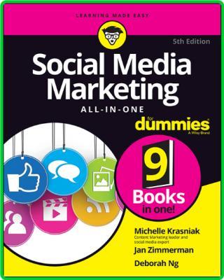 Michelle Krasniak Jan Zimmerman Deborah Ng Social Media Marketing All In One For D...