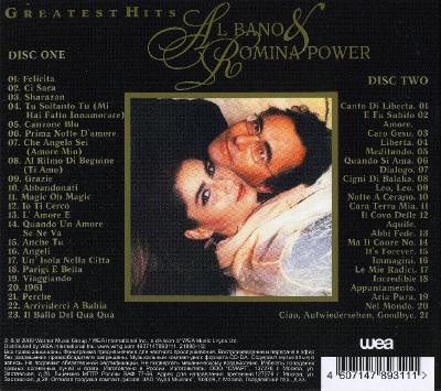 Al Bano & Romina Power - Greatest Hits (2CD) (2009) FLAC