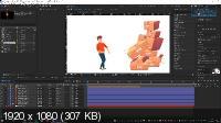 Персонажная анимация в After Effects: практика работы (2021/PCRec/Rus)