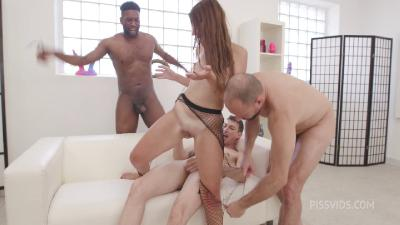 Clip-Miriam More Naked Barefoot Goes Wet 5on1 Dap Zero Pussy Gl