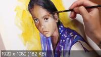 Портрет акварелью (2021) Видеокурс