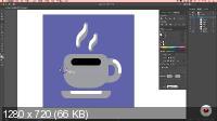 Оригинальная векторная иллюстрация в Adobe Illustrator (2021)