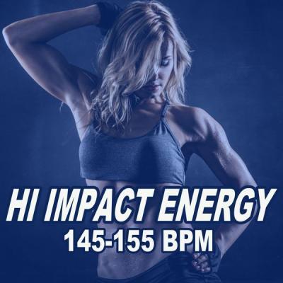 Various Artists - Hi Impact Energy 145-155 Bpm (2021)